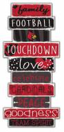 Louisville Cardinals Celebrations Stack Sign
