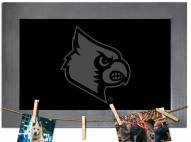Louisville Cardinals Chalkboard with Frame