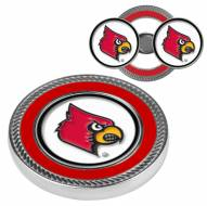Louisville Cardinals Challenge Coin with 2 Ball Markers