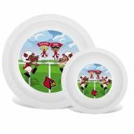 Louisville Cardinals Children's Plate & Bowl Set