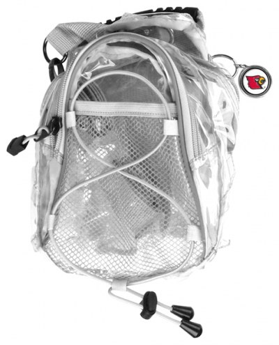 Louisville Cardinals Clear Event Day Pack