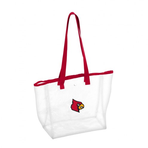 Louisville Cardinals Clear Stadium Tote