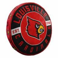 Louisville Cardinals Cloud Travel Pillow