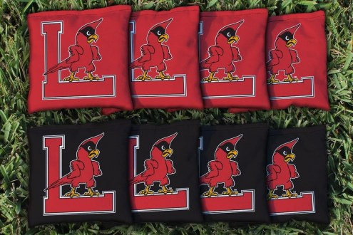 Louisville Cardinals College Vault Cornhole Bag Set
