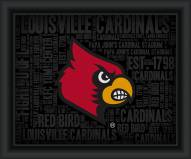 Louisville Cardinals College Word Cloud