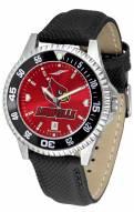 Louisville Cardinals Competitor AnoChrome Men's Watch - Color Bezel