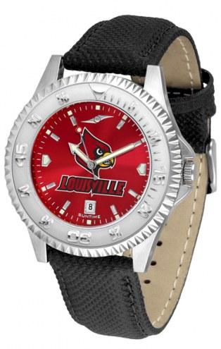 Louisville Cardinals Competitor AnoChrome Men's Watch