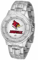 Louisville Cardinals Competitor Steel Men's Watch