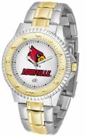 Louisville Cardinals Competitor Two-Tone Men's Watch