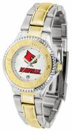 Louisville Cardinals Competitor Two-Tone Women's Watch