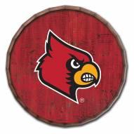 "Louisville Cardinals Cracked Color 24"" Barrel Top"