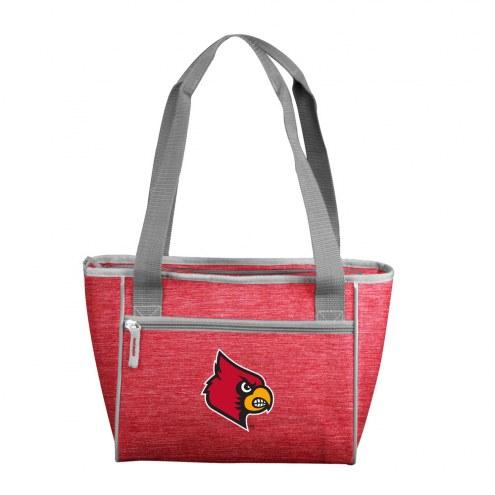 Louisville Cardinals Crosshatch 16 Can Cooler Tote