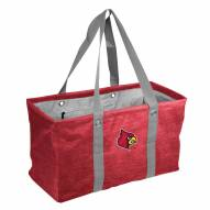 Louisville Cardinals Crosshatch Picnic Caddy