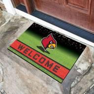 Louisville Cardinals Crumb Rubber Door Mat