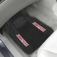 Louisville Cardinals Deluxe Car Floor Mat Set