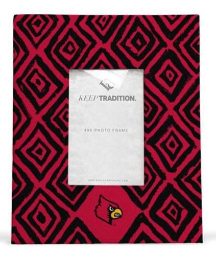 Louisville Cardinals Diamond Picture Frame