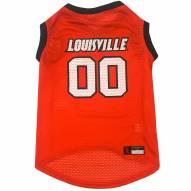 Louisville Cardinals Dog Basketball Jersey