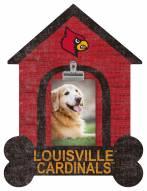 Louisville Cardinals Dog Bone House Clip Frame