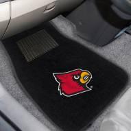 Louisville Cardinals Embroidered Car Mats