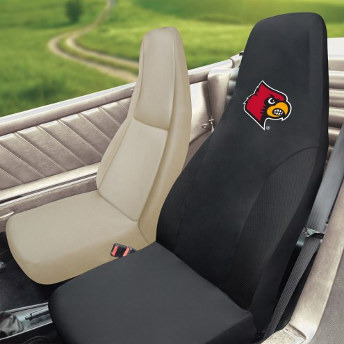 Louisville Cardinals Embroidered Car Seat Cover