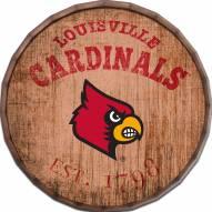 "Louisville Cardinals Established Date 24"" Barrel Top"