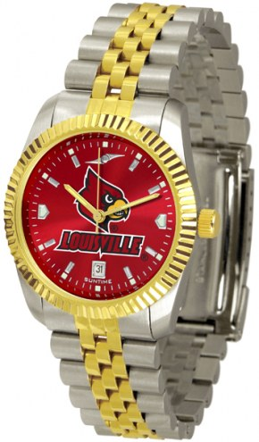Louisville Cardinals Executive AnoChrome Men's Watch