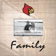 Louisville Cardinals Family Picture Frame