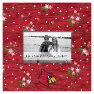 """Louisville Cardinals Floral 10"""" x 10"""" Picture Frame"""