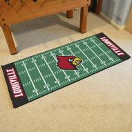 Louisville Cardinals Football Field Runner Rug