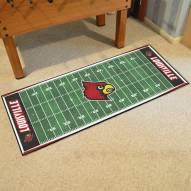 Louisville Cardinals Football Field Runner Rug