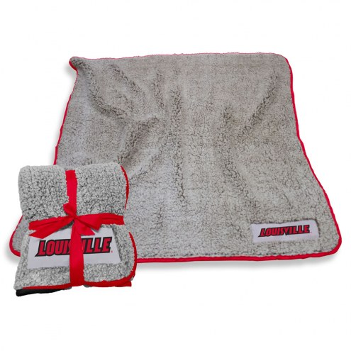 Louisville Cardinals Frosty Fleece Blanket