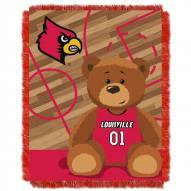 Louisville Cardinals Fullback Baby Blanket