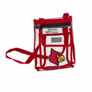 Louisville Cardinals Gameday Clear Crossbody Tote