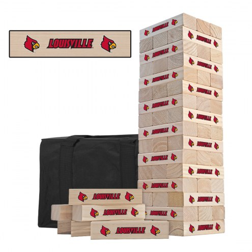 Louisville Cardinals Gameday Tumble Tower