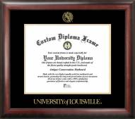 Louisville Cardinals Gold Embossed Diploma Frame