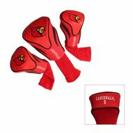 Louisville Cardinals Golf Headcovers - 3 Pack