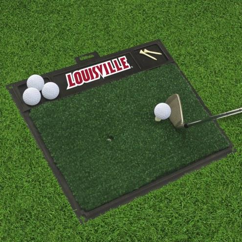 Louisville Cardinals Golf Hitting Mat