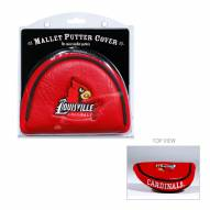 Louisville Cardinals Golf Mallet Putter Cover