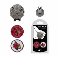 Louisville Cardinals Hat Clip & Marker Set