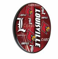 Louisville Cardinals Digitally Printed Wood Sign