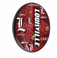 Louisville Cardinals Digitally Printed Wood Sign
