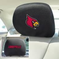 Louisville Cardinals Headrest Covers