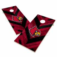 Louisville Cardinals Herringbone Cornhole Game Set