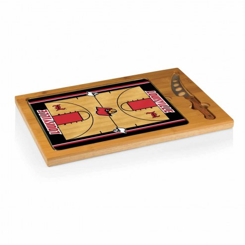 Louisville Cardinals Icon Cutting Board