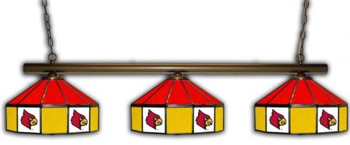 Louisville Cardinals 3 Shade Pool Table Light