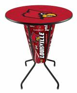 Louisville Cardinals Indoor Lighted Pub Table