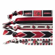 Louisville Cardinals Knotted Hair Tie