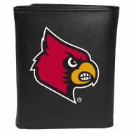 Louisville Cardinals Large Logo Tri-fold Wallet