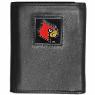 Louisville Cardinals Leather Tri-fold Wallet