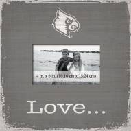 Louisville Cardinals Love Picture Frame